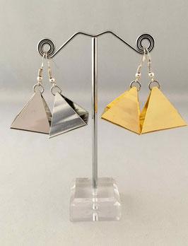 Boucles d'oreilles - Pyramidale