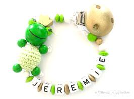 """Nuggikette 3D-Frosch """"Jeremie"""""""