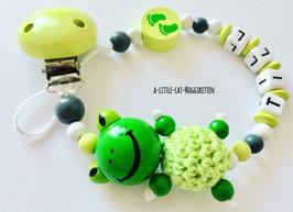 """Nuggikette 3D-Frosch """"Till"""""""