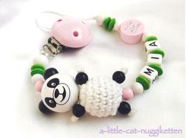 "Nuggikette Pandabär ""Mia"""