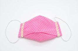 Gesichtsmaske 3D - rosa