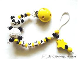 """Nuggikette Pandabär """"Emma"""""""