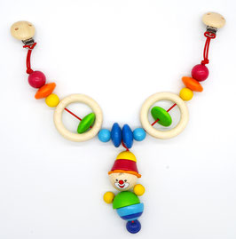 """Kinderwagenkette """"Clown"""""""