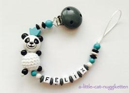 "Nuggikette 3D-Pandabär ""Felix"""