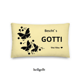 "Kissen Gotti ""Schmetterlinge"""