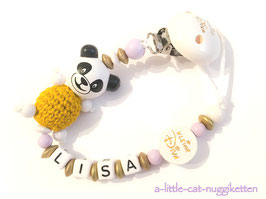 """Nuggikette Pandabär """"Lisa"""""""