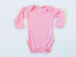 Body langarm rosa