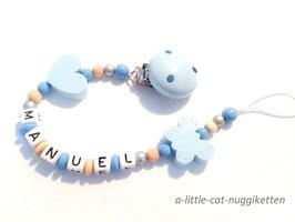 "Nuggikette Schmetterling ""Manuel"""