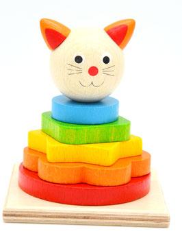 """Stapelturm """"Katze"""""""