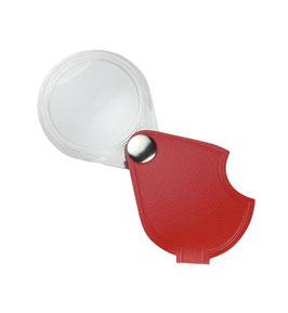 Einschlaglupe SCHWEIZER ECONOMIC Rot, 10 D / Ø 60 mm