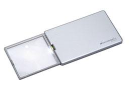 ESCHENBACH easyPOCKET Leuchtlupe 8 D, silber