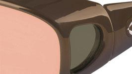 LifeLine Comfortfilter Brille MIGRÄNE Comfort 37, Dark Bronze von SCHWEIZER
