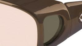 SCHWEIZER LifeLine Comfortfilter Brille MIGRÄNE Comfort 22, Dark Bronze