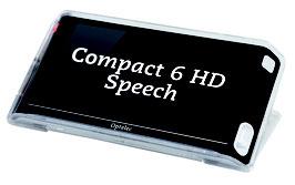 Optelec Compact 6 HD Speech - Elektronische Handlupe mit Vorlesefunktion