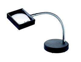 SCHWEIZER Arbeitsstandlupe asph. Leichtlinse, 8 D / 100x75 mm