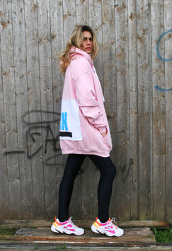 NORHT OF GERMANY SPECIAL HOODIE DRESS MOIN BABY PINK