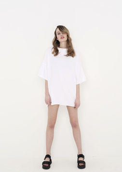 NORTH OF GERMANY SPECIAL CLASSY OVERSIZED AVANTGARDE SHIRT WHITE