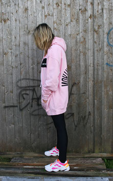 NORTH OF GERMANY SPECIAL HOODIE DRSS GLIMMER INSEL BABY PINK