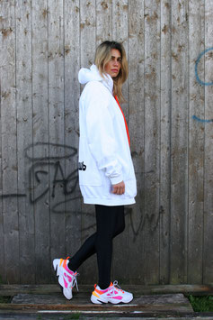 NORTH OF GERMANY SPECIAL HOODIE DRESS GLOTZ NICHT SO ARCTIC WHITE