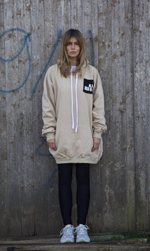 NORTH OF GERMANY SPECIAL HOODIE DRESS NUDE DANKE.CIAO!