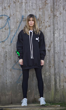 NORTH OF GERMANY SPECIAL HOODIE DRESS SMOKE BLACK PRIORITY