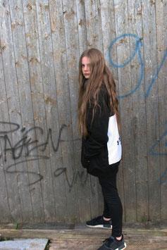 NORTH OF GERMANY SPECIAL KIDS HOODIE JET BLACK SYLT KOORDINATEN
