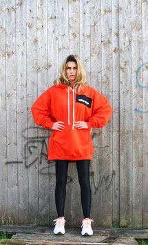 NORTH OF GERMANY SUNSET ORANGE SPECIAL HOODIE DRESS GLIMMER INSEL
