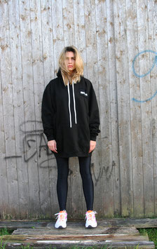 NORTH OF GERMANY SPECIAL HOODIE DRESS JET BLACK MYSTIC ISLAND