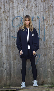 NORTH OF GERMANY SPECIA HOODIE DRESS FRENCH NAVY AU REVOIR
