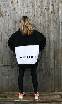 NORTH OF GERMANY SPECIAL HOODIE DRESS KOORDINATEN SMOKE BLACK