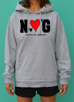 NORTH OF GERMANY LOVE HOODED JG