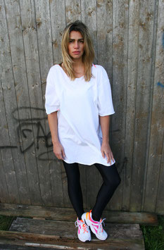 NORTH OF GERMANY LONG SHIRT WHITE MOIN