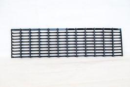 GRIGLIA SUPERIORE NERA PER PARAURTI ANTERIORE PER SONIQUE L e XL (cod. BCR47-0016087/C - POS.7)