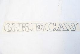 SCRITTA GRECAV NERA (cod. BAF90-0012768 - POS.22)