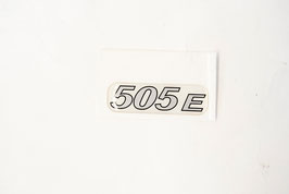 ETICHETTA RESINATA LOGO MARCHIO 505E (cod. BAF90-0007868)