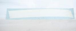 STRISCIA ADESIVA SINISTRA BIANCA X COFANO MOTORE (cod. BAF90-0014479 - POS.16)