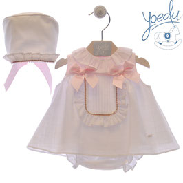 3 teil. Kleid mit Schleifen Nr.SMSK014