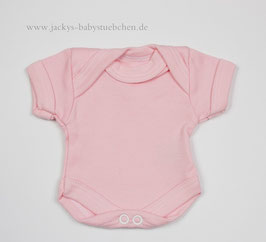 Baby Frühchenbody rosa uni Gr.32 Nr.508