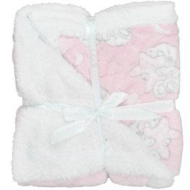 Babydecke mit Bär Nr. BD006