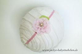 Newborn Kopfband mit Blüte Nr.66