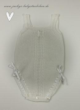 Feinstrickoverall in weiß oder creme  Nr.F047