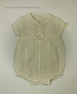 Overall mit Spitze in creme Gr. 50-56 size 0-1 months Nr.623