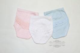Babyhosen mit Rüschen in 3 Farben Gr.50 size 0 Nr. UW017