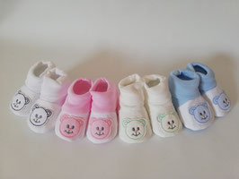 Babyschuhe mit Bärchenapplikation Nr.922