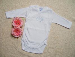 Babywickelbody in weiß Gr.50-56 Nr.JU005