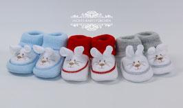 Babyschuhe,,Häschen,,in 3 Farben Gr.50 size 0 Nr.918