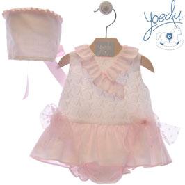 3 teil. Kleid mit Tüllschleifen Nr. SMSK013