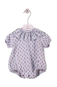 WEDOBLE Babyromper mit Seepferdchenmuster Nr. R002