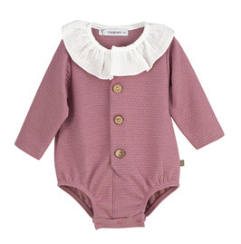 Babyromper mit Rüschenkragen Nr.RMW21/010