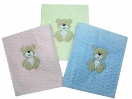 Babydecke in 3 Farbvarianten 80x 113 Nr.BD 007
